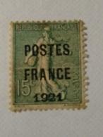 FRANCE PREO N° 34 (*) TB SIGNE SCHELLER  Cote 950 € RARE - 1893-1947