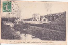 CPA - 26. SAINT MAUR DES FOSSES - Un Petit Bras De La Marne Et Le Viaduc - Saint Maur Des Fosses