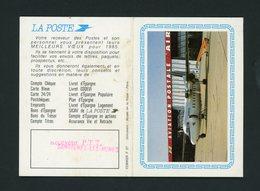 CALENDRIER PETIT FORMAT 2 VOLETS 1985 DISTRIBUÉ PAR LE RECEVEUR DE LA POSTE DE SAVIGNY-LES-MINES - Calendriers
