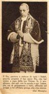 Santino Antico SANTO PADRE PAPA PIO XII (Eugenio Pacelli) - N29 - Religione & Esoterismo