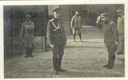 Carte Photo , Officier Russe Sur Le Front De L'est De La France , Ww1 , Non écrite - Guerre 1914-18