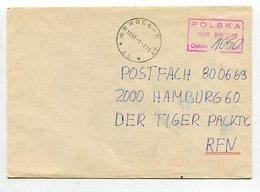 Polen / 1990 / Bf. Ex WROCLAW, Inflation, Tax-o (10047) - 1944-.... Republik