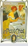 NUGERON NOS PUBLICITES  J 51 PUB Publicité Le Petit Chat Savon De Toilette C.Ferrier Marseille (cat ) *PRIX FIXE - Publicité