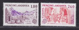 ANDORRE N°  313 & 314 ** MNH Neufs Sans Charnière, TB (D7350) EUROPA, Grandes Oeuvres Du Génie Humain - Andorre Français
