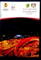 Football Programme -   F.C.  METALLIST  Kharkiv  V   BAYER 04  Leverkusen , EURO-CUP, 2011. - Books
