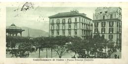 """850 """" CASTELLAMMARE DI STABIA - PIAZZA PRINCIPE UMBERTO CON CARRETTO E CARROZZA"""" MINI - CART ANIMATA ORIG  SPED. - Castellammare Di Stabia"""