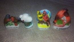 4 Fèves Collection Les Oiseaux - Animals