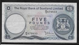 Ecosse - 5 Pounds - Pick N°342 - SUP - Billets
