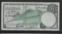 Ecosse - 1 Pound - Pick N°334 - TB - Billets