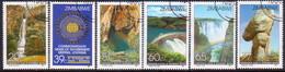 ZIMBABWE 1991 SG #816-21 Compl.set Used Commonwealth Heads Of Government Meeting - Zimbabwe (1980-...)
