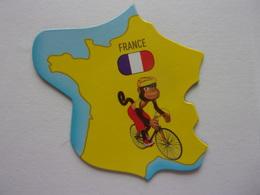 Magnet Savane Brossard France Vélo Singe Europe - Tourism