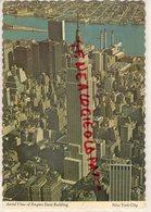 ETATS UNIS AMERIQUE - NEW YORK CITY - AERIAL VIEW OF EMPIRE STATE BUILDING - Empire State Building
