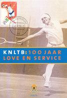 D34031 CARTE MAXIMUM CARD FD 1999 NETHERLANDS - TENNIS KNLTB - STAMP RICHARD KRAJICEK CP ORIGINAL - Tennis