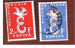 BELGIO (BELGIUM)  - 1958 EUROPA  - USED - Europa-CEPT