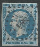 Lot N°42947   N°14B, Oblit PC 884 Clermont-de-l'Oise, Oise (58), Ind 3 - 1853-1860 Napoléon III