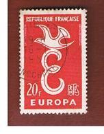 FRANCIA (FRANCE)  - 1958 EUROPA  - USED - Europa-CEPT
