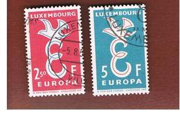 LUSSEMBURGO (LUXEMBOURG)  - 1958 EUROPA  - USED - Europa-CEPT
