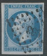 Lot N°42949   N°14B, Oblit PC 933 Condé-sur-le'Escaut, Nord (57), Ind 4, Bonnes Marges - 1853-1860 Napoléon III
