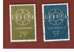 LUSSEMBURGO (LUXEMBOURG)  - 1959 EUROPA  - USED - Europa-CEPT
