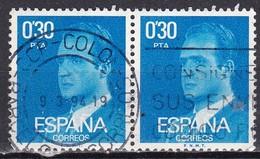 Spagna, 1976/77 - 30c King Juan Carlos, Coppia  - Nr.1971 Usato° - 1875-1882 Regno: Alfonso XII