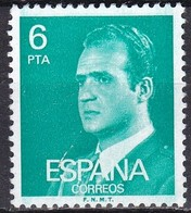 Spagna, 1976/77 - 6p King Juan Carlos  - Nr.1979 Usato° - 1875-1882 Regno: Alfonso XII