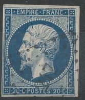 Lot N°42954   N°14A, Oblit PC 247 Bapaume, Pas-de-Calais (61), Ind 4 - 1853-1860 Napoléon III