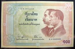Thailand Banknote 100 Baht 2002 100th Year Of Thai Banknotes P#110 UNC - Thailand