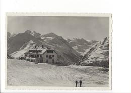 19899 - Muottas Muraigl Gegen Bernina-Gruppe Skieurs (format 10X15) - GR Grisons