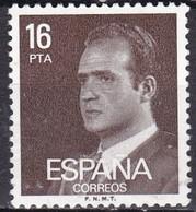 Spagna, 1980/84 - 16p King Juan Carlos  - Nr.2187 Usato° - 1875-1882 Regno: Alfonso XII