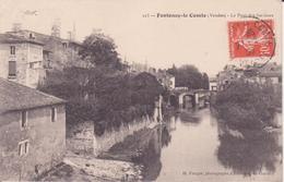 CPA - 223. FONTENAY LE COMTE (Vendée) - Le Pont Des Sardines - Fontenay Le Comte