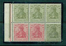 Deutsches Reich, Germania, HBL 34 B, Postfrisch ** - Zusammendrucke