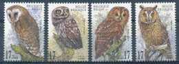 D- [202959] **/Mnh-Belgique 1999, Animaux, Oiseaux, Chouettes Et Hiboux, SC - Hiboux & Chouettes