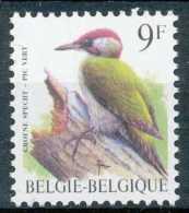 D- [202988] **/Mnh-Belgique 1998, Oiseau De Buzin, Pic Vert - Climbing Birds
