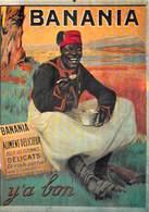 NUGERON NOS PUBLICITES  J 30 PUB Publicité  BANANIA Y'A BON (Chocolat En Poudre)  *PRIX FIXE - Publicité