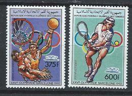 Comores YT PA 246 XX / MNH Sport Basket Tennis Jeux Olympiques Barcelone 1992 - Comores (1975-...)