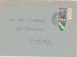 ALLEMAGNE ZONE FRANCAISE  1946 LETTRE DE LINDENBERG - Französische Zone