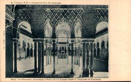 GRANADA - Alhambra - Patio De Los Leones Desde El Templete De Poniente - Granada
