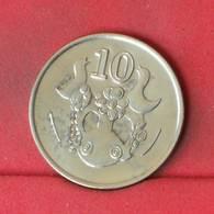 CYPRUS 10 CENTS 1992 -    KM# 56,3 - (Nº23111) - Cyprus