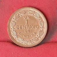 HONDURAS 1 CENTAVOS 1992 -    KM# 77a - (Nº23112) - Honduras
