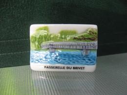 Fève Passerelle Du Brivet Série Vincent Besne Besné  Année 2011 * Fèves - Rare ¤ T 5 - Région