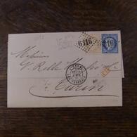29.05.18_LAC DE Lyon Pour Turin Voir Variété - Postmark Collection (Covers)