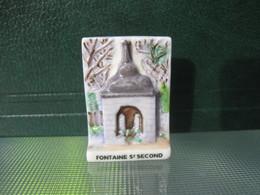 Fève Fontaine St Second Série Vincent Besne Besné  Année 2011 * Fèves - Rare ¤ T 5 - Région