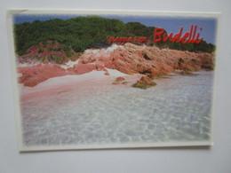 Spiaggia Rosa Budelli. La Maddalena. Madau. - Italië