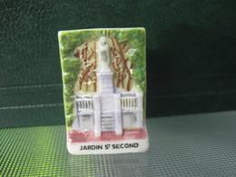 Fève Jardin St Second Série Vincent Besne Besné  Année 2011 * Fèves - Rare ¤ T 5 - Région