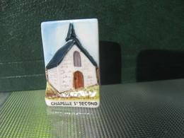 Fève Chapelle St Second Série Vincent Besne Besné  Année 2011 * Fèves - Rare ¤ T 5 - Région