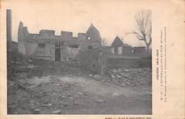L'Echelle St Saint Aurin (80) - La Ferme Après Le Bombardement Allemand - Ruines - France