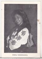 Romanian Small Calendar - 1982 - Music Stars - Folk Music  Singer Sofia Vicoveanca - Calendars