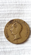 LOUIS NAPOLEON BONAPARTE MEDAILLE COMMEMORATIVE - Bronzes