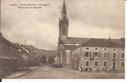 88 - CORNIMONT - Place De La Mairie  (Petite Animation) - Cornimont