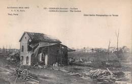 Combles (80) - La Gare - Guerre 1914 1918 Ruines - Combles